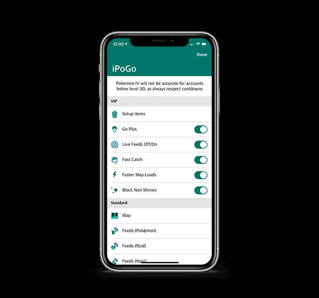 screenshot of iPoGo